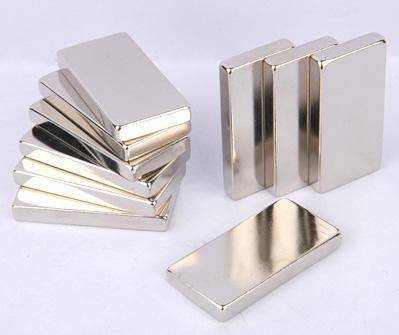 NdFeB Rectangular/Block Magnets for motors and Electronic Industry