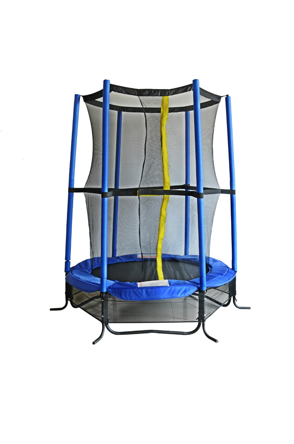 55'' Round Trampoline with enclosure net-BL