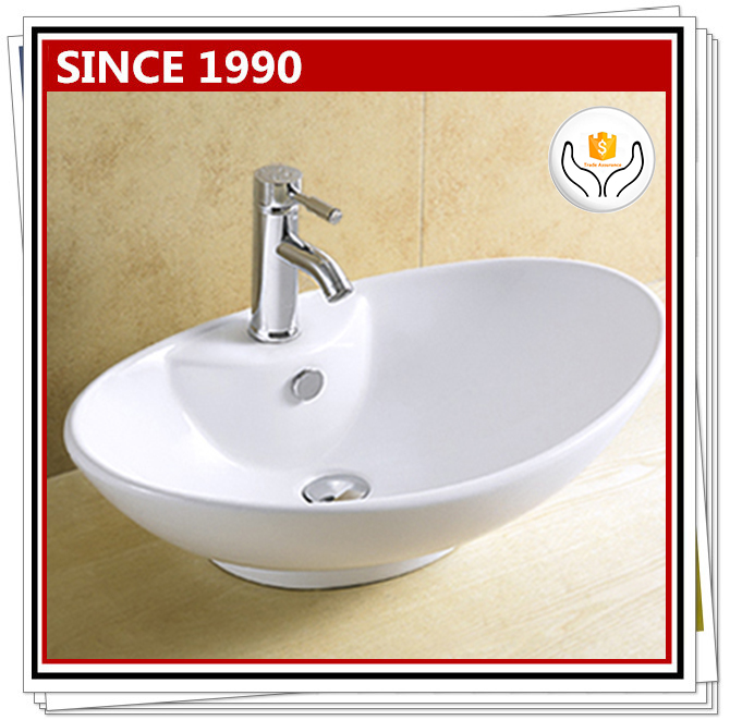 8043 Hot sale vessel sink wash basin for bathroom