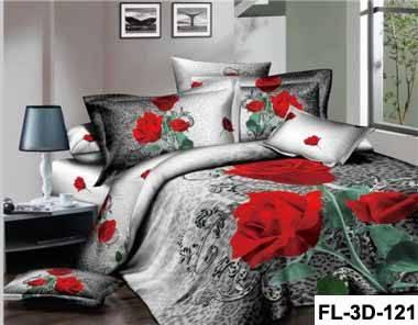 100% cotton bedsheet 3d printed sheet set