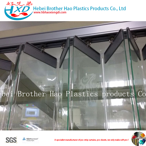 Collapsible Clear PVC Strip Curtain