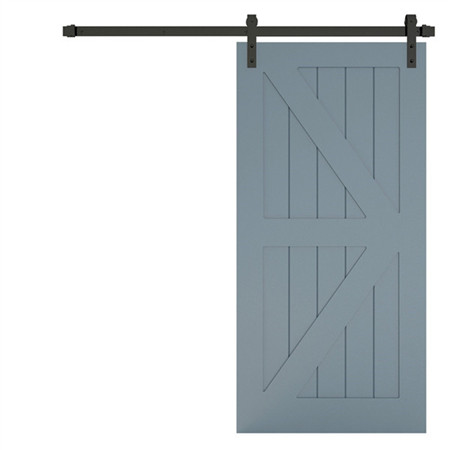 Manhattan Gray MDF Inside Barn Doors