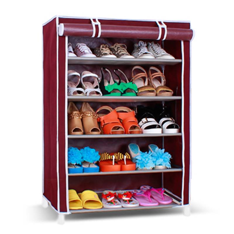 Portable no-woven shoe rack/shoe shelf/wardrobe