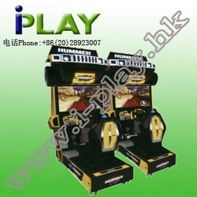 COIN OPERATED HUMMER 32''LCD DRIVING SIMULATOR AMUSEMENT MACHINE FOR SALE