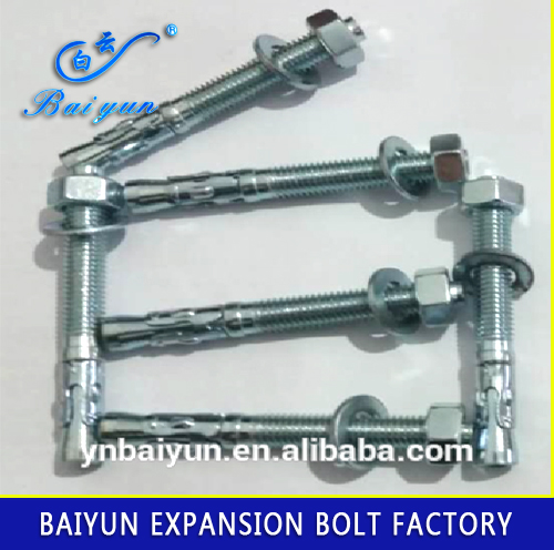 galvanized wedge anchor/ expansion anchor