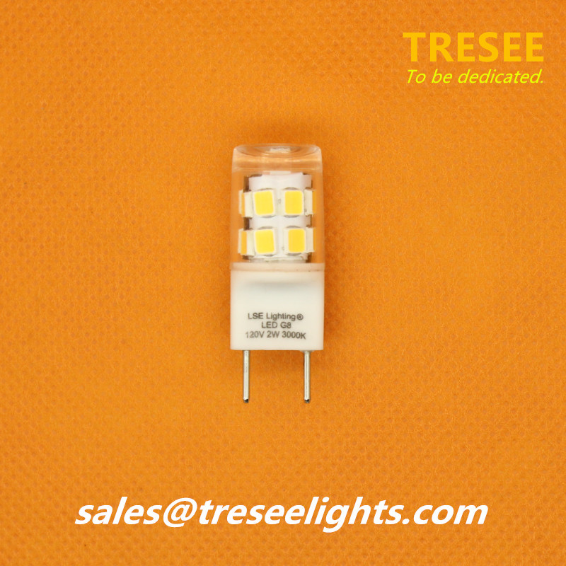 Sockel G8 Base LED Bulb Light 2W SMD2835 Lamp San'an CE