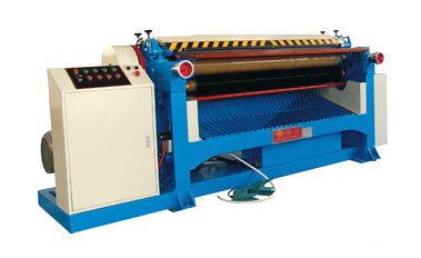 Leather buffing machine