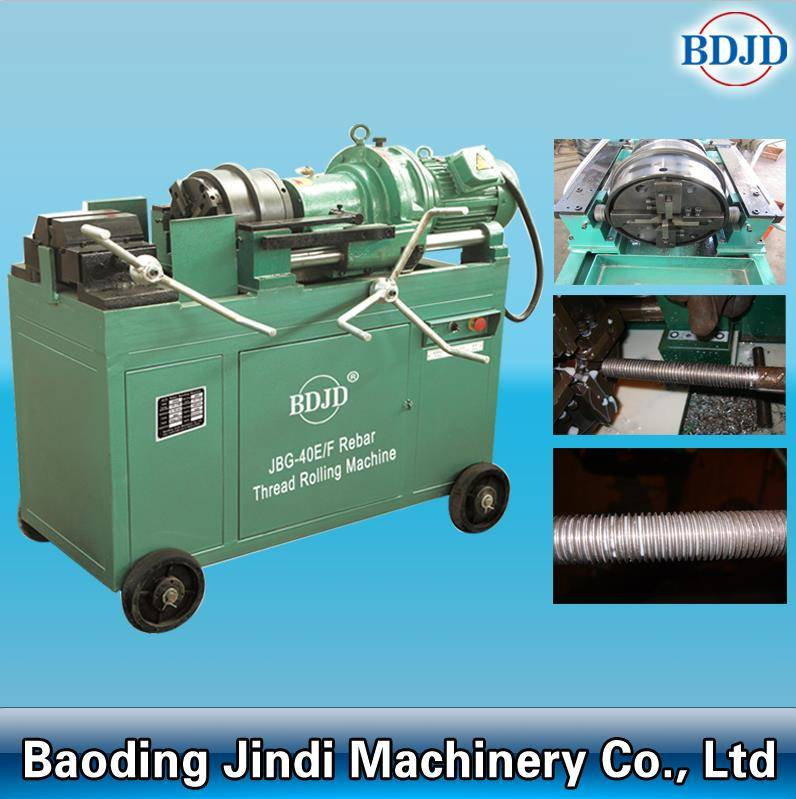 automation threading machine steel rebar thread rolling machine best price
