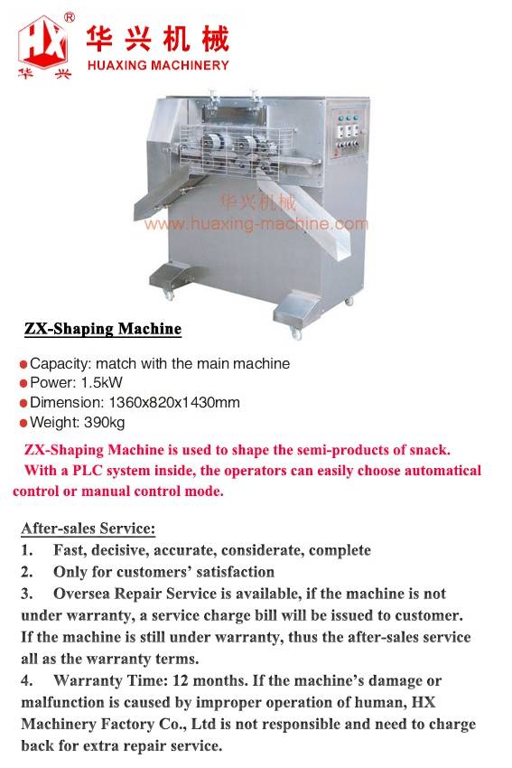 ZX-Shaping Machine