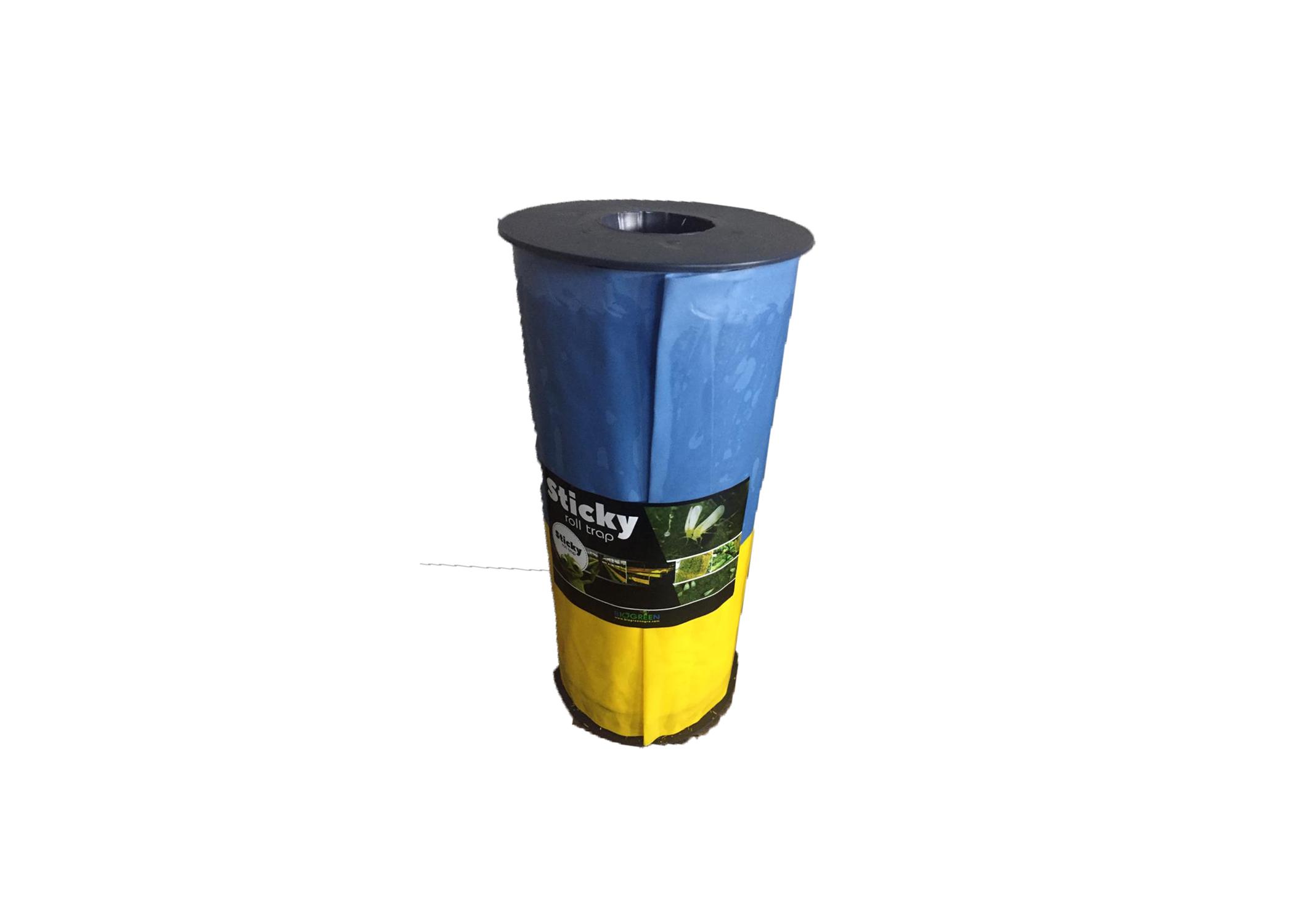 30 cm x 100m Yellow-Blue Sticky Roll Trap