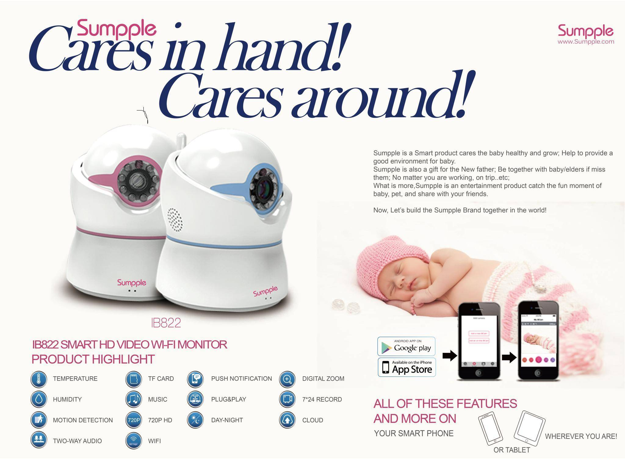 S822   HD 720P cute babe monitor