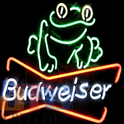 Custom glass bar neon sign