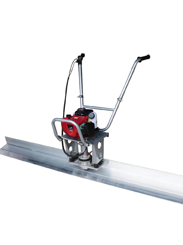 Gasoline engine concrete vibration ruler/concrete vibrating leveling screed/walking type vibration o