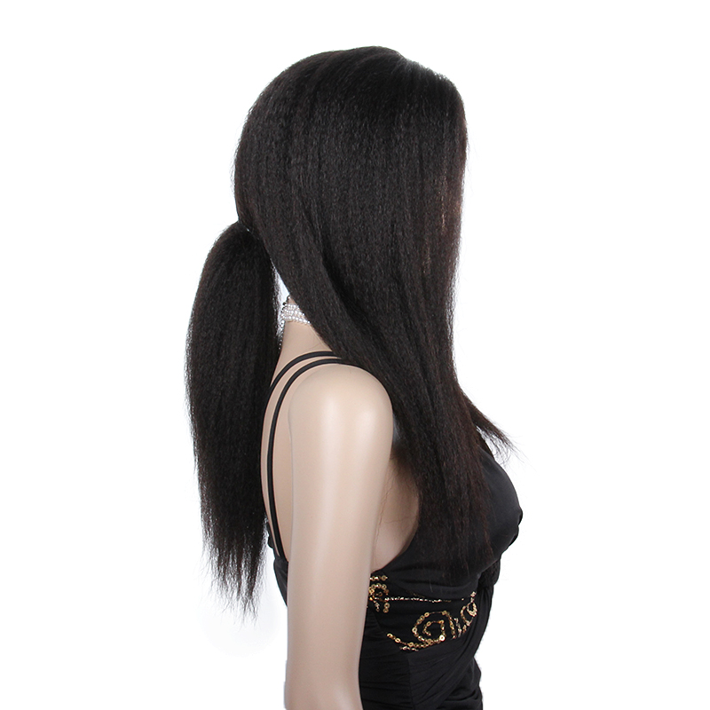 Factory price cheap brazilian human hair wig, silk base full lace wig with baby hair, no synthetic