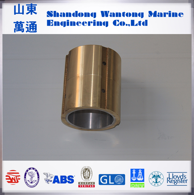 Naval copper bushing Stern Tube White Metal Bearing Oil Lubrication bearings
