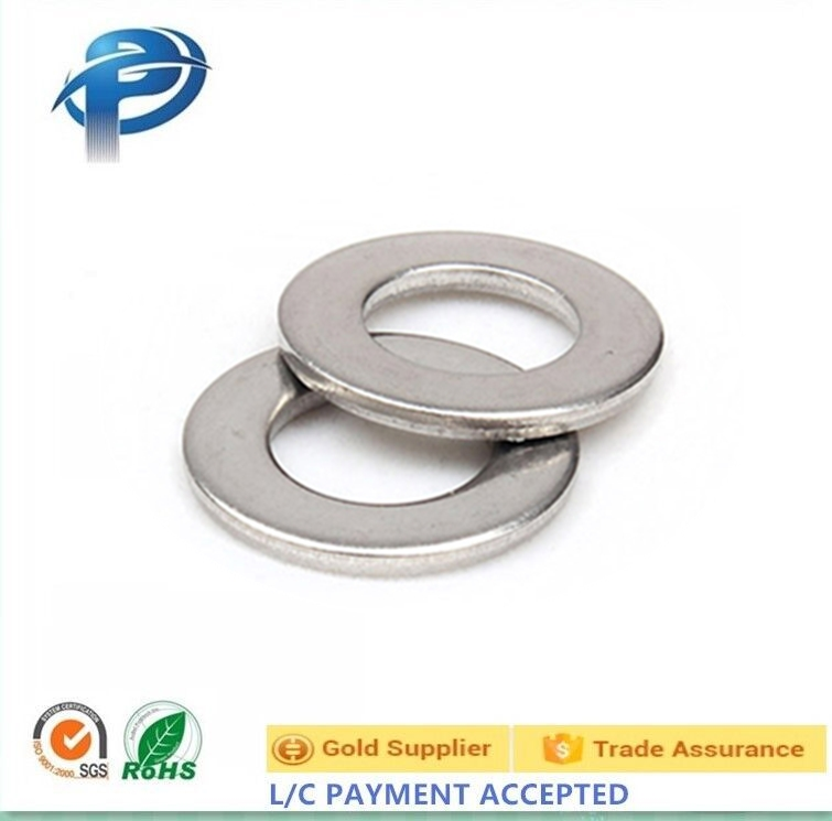 Hot sale China Flat gasket Flat washer Metal washer thin flat washer