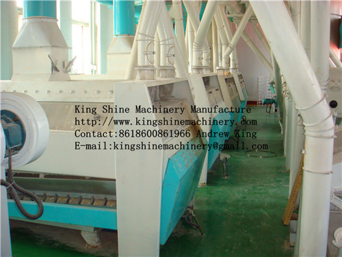 30-500 T/D complete set of maize processing maize mill machine