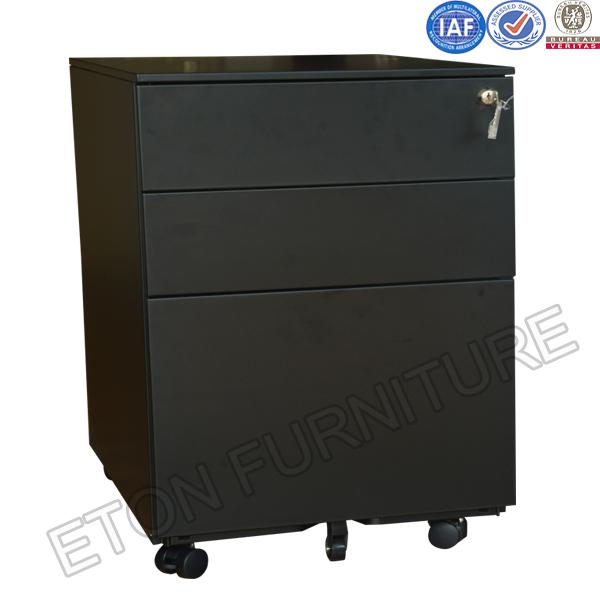 Full Steel Material Movable Base Cabinet Under Desk
