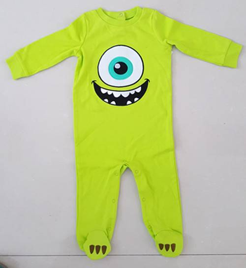 baby cotton growsuit/overall