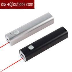 2600mah power bank pen with laser