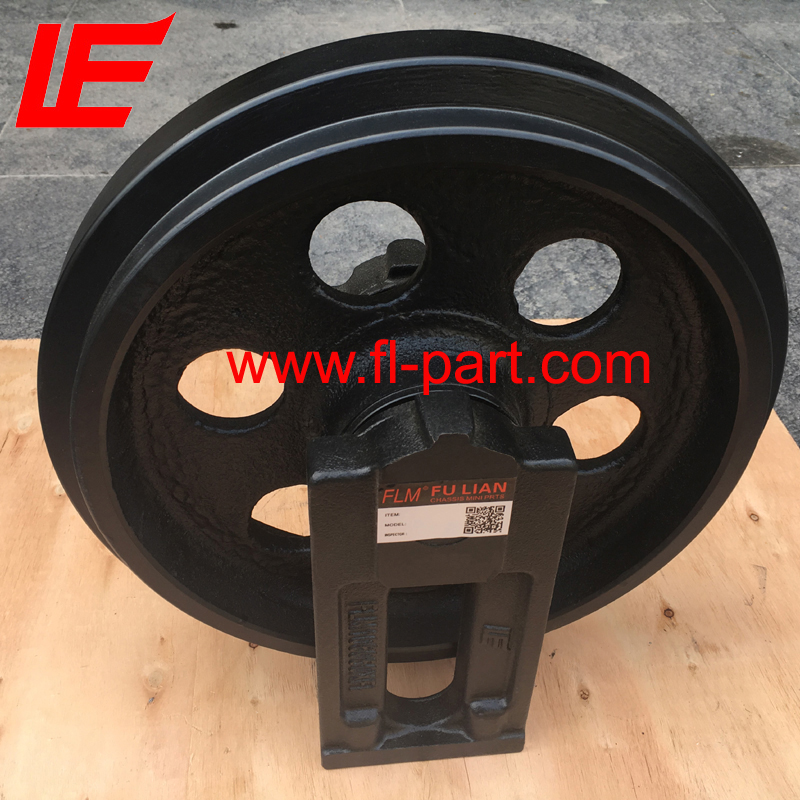 Mini excavator PC40MR-2 idler wheel/ front idler