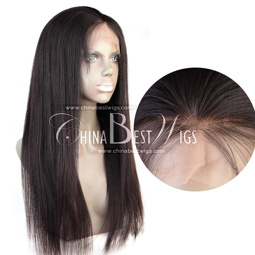 regular yaki virgin hair 360 wig