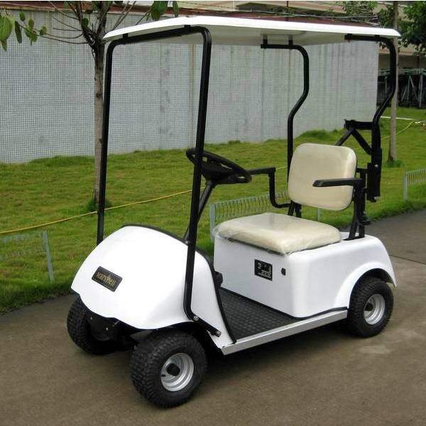 CE approve one person single seater golf cart