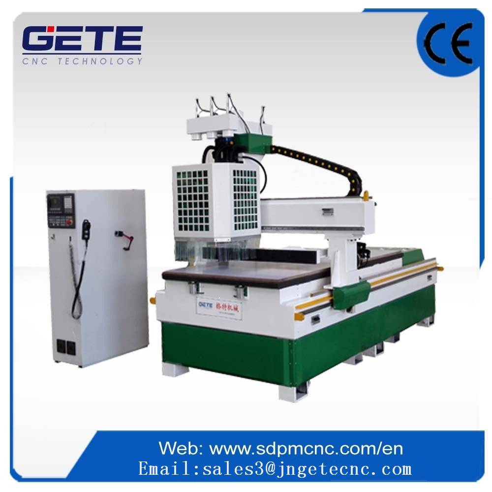 Three processing woodworking cnc router