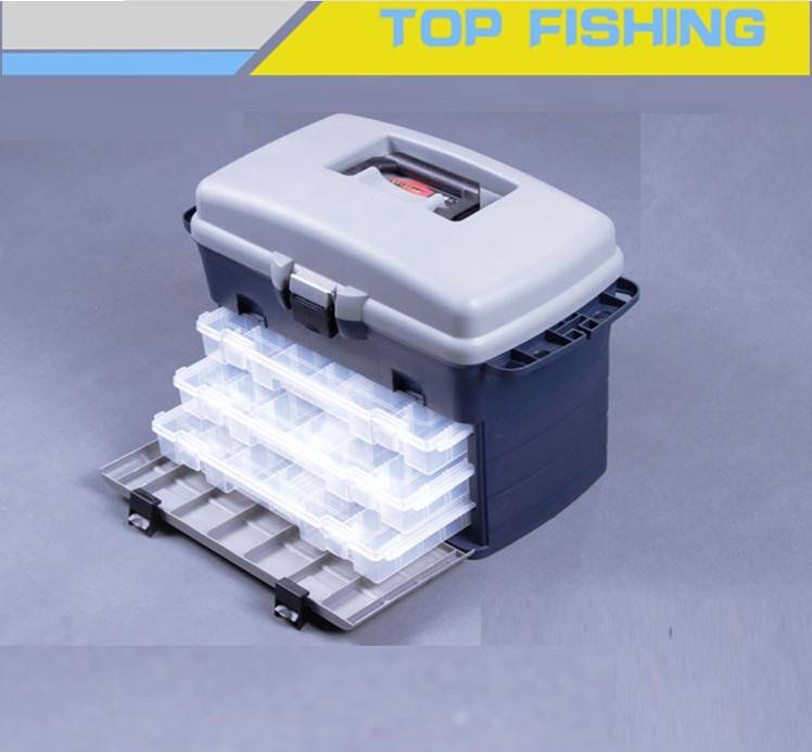 New design fishing tool box with cooler box function