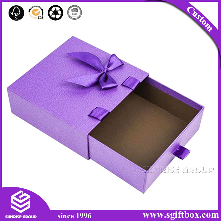 Scarves Paper Packaging Drawer Folding Gift Box