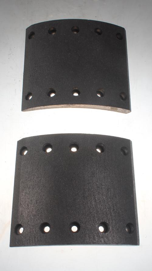 WVA 19032 BPW brake rotos and brake lining
