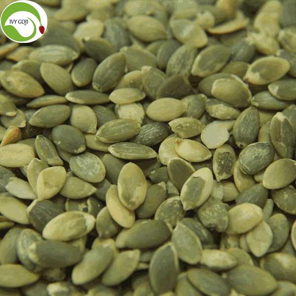 Supply Raw Dried Shine Skin Pumpkin Seed Kernels