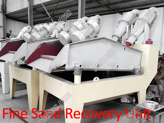 Fine Sand Recovery Unit