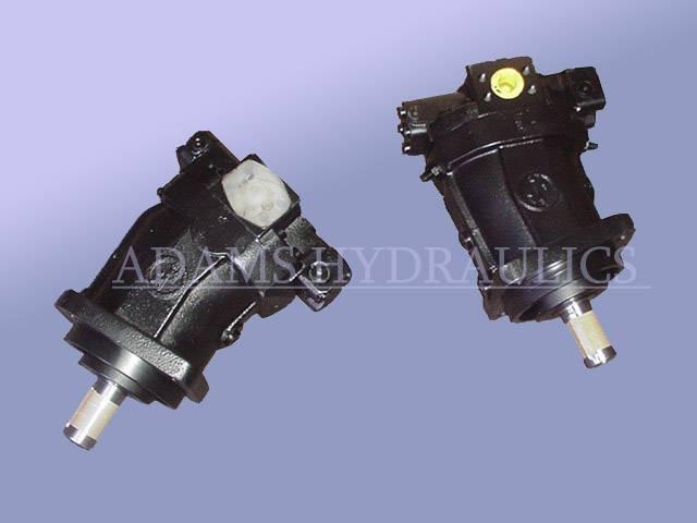 REXROTH A6VM 80HD Motor, ADAMS Hydraulics