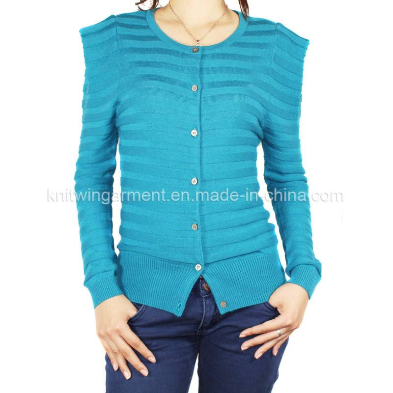 Fashion Women Knitted  long sleeve Sweater cardigan