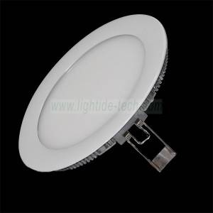 8 Inch 16W Dimmable Recessed LED Round Panel Light
