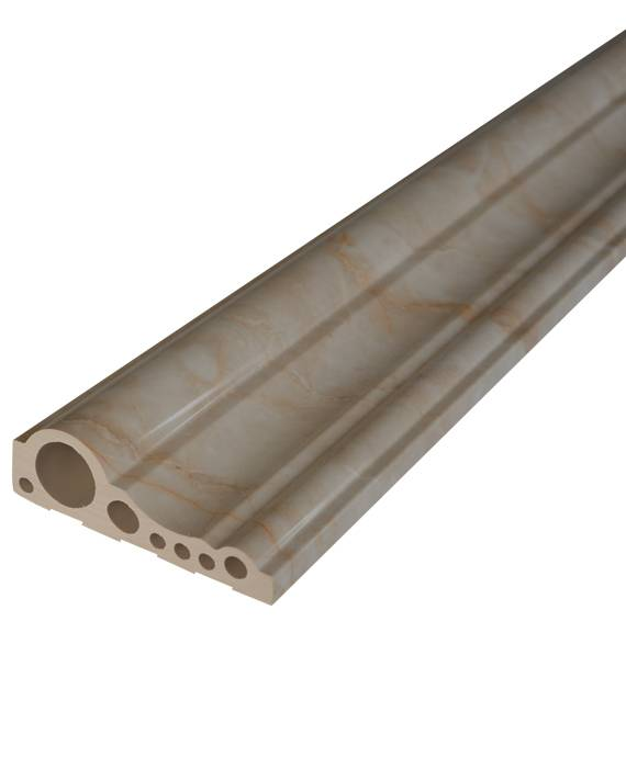 Good quality artificial marble door frame line 100mm