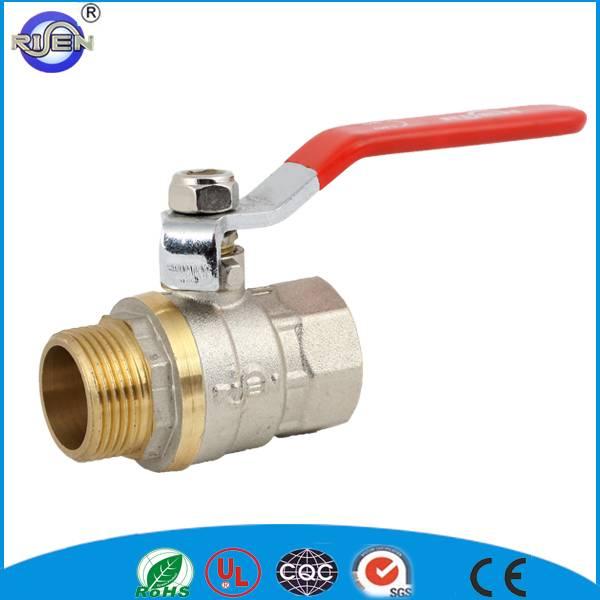 cw617n forging brass DN20 water control ball valve