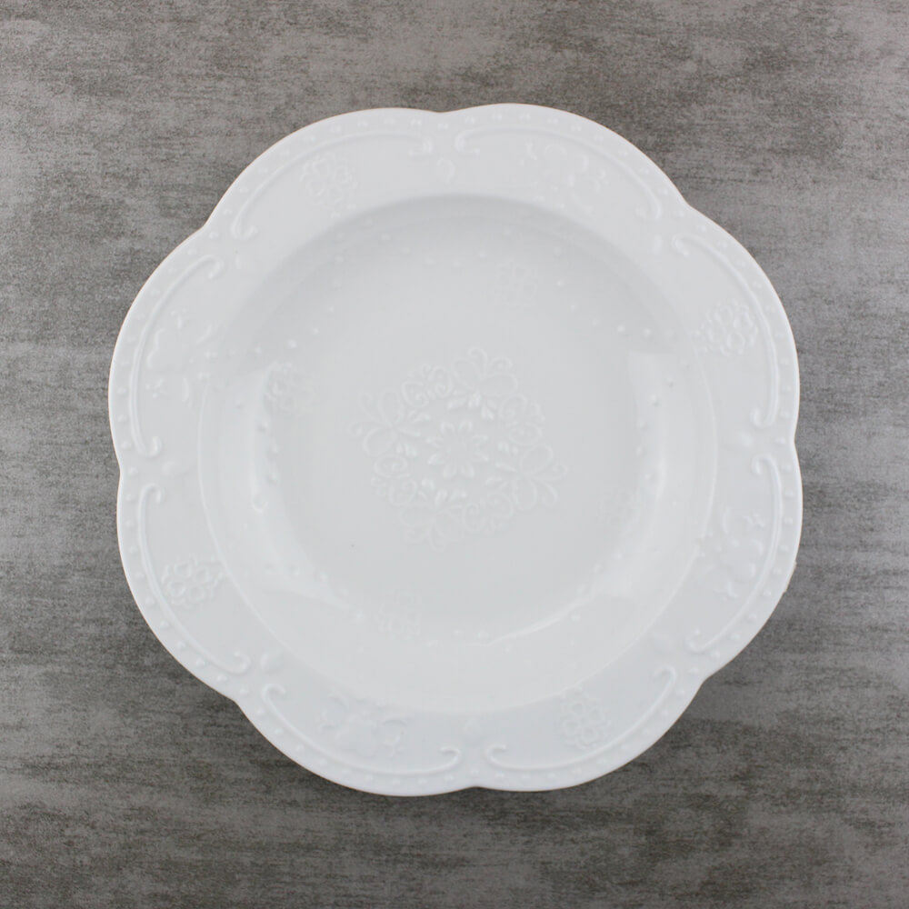 8.25 inch Catering Soup Bowls Lace