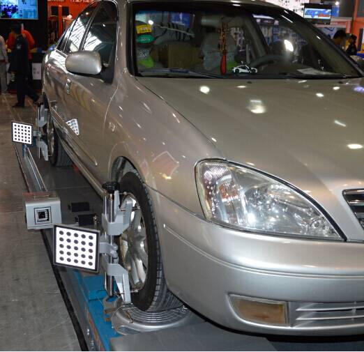 Auto 5D wheel alignment