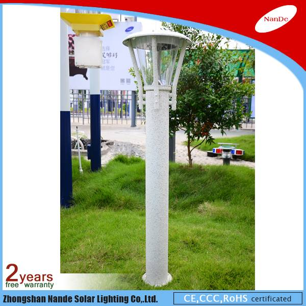 2016 new design solar lawn light with factory price