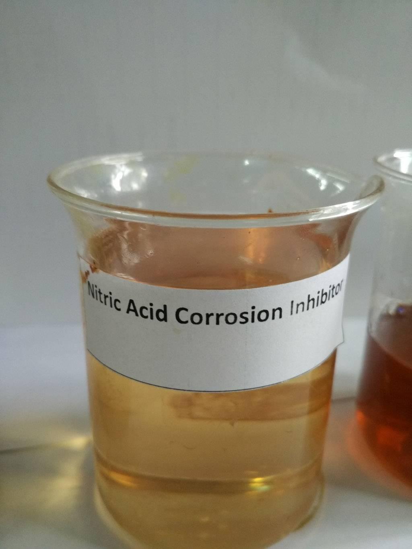 Nitric acid corrsion inhibitor