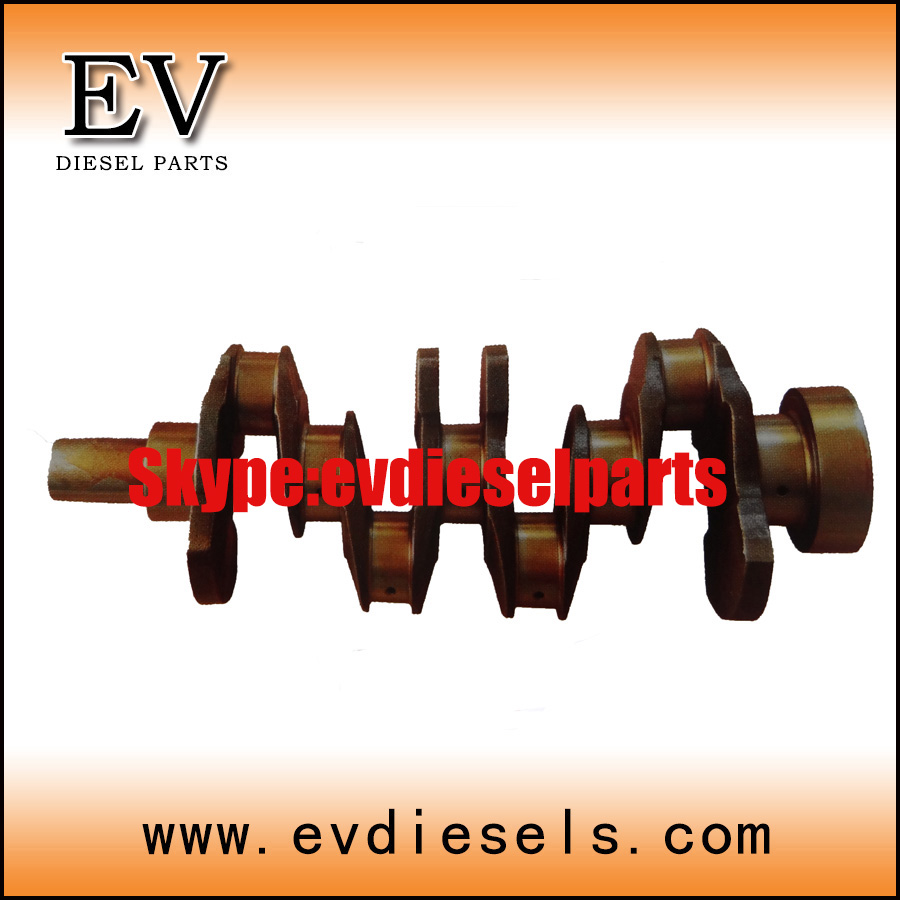 Kubota V2203 V2403 V3800 V3300 crankshaft for Kubota engine ovehauling