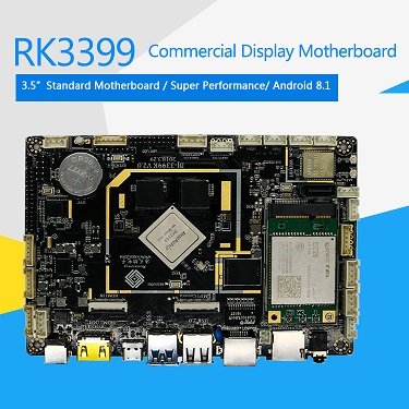 DJ-3399K Six-Core Commercial Display Smart Android 8.1 System Board