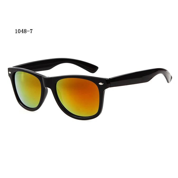 UV 400 Protections Mens Womens Retro Fashion Sun Glasses Medium Wayfarer Sunglasses For Sale Shiny F