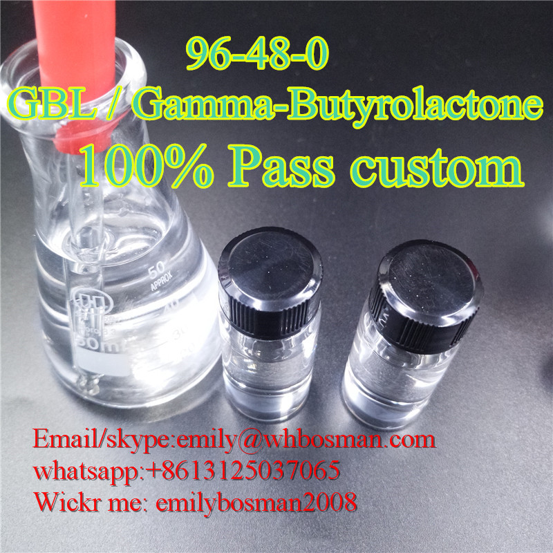 CAS 96-48-0 GBL / Gamma-Butyrolactone China Vendor Fast delivery