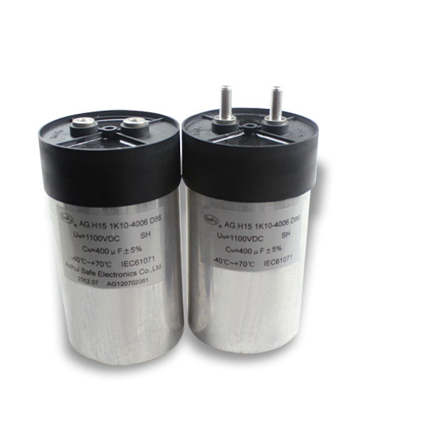 Direct Manufacturer for solar and wind power capacitor 400uF