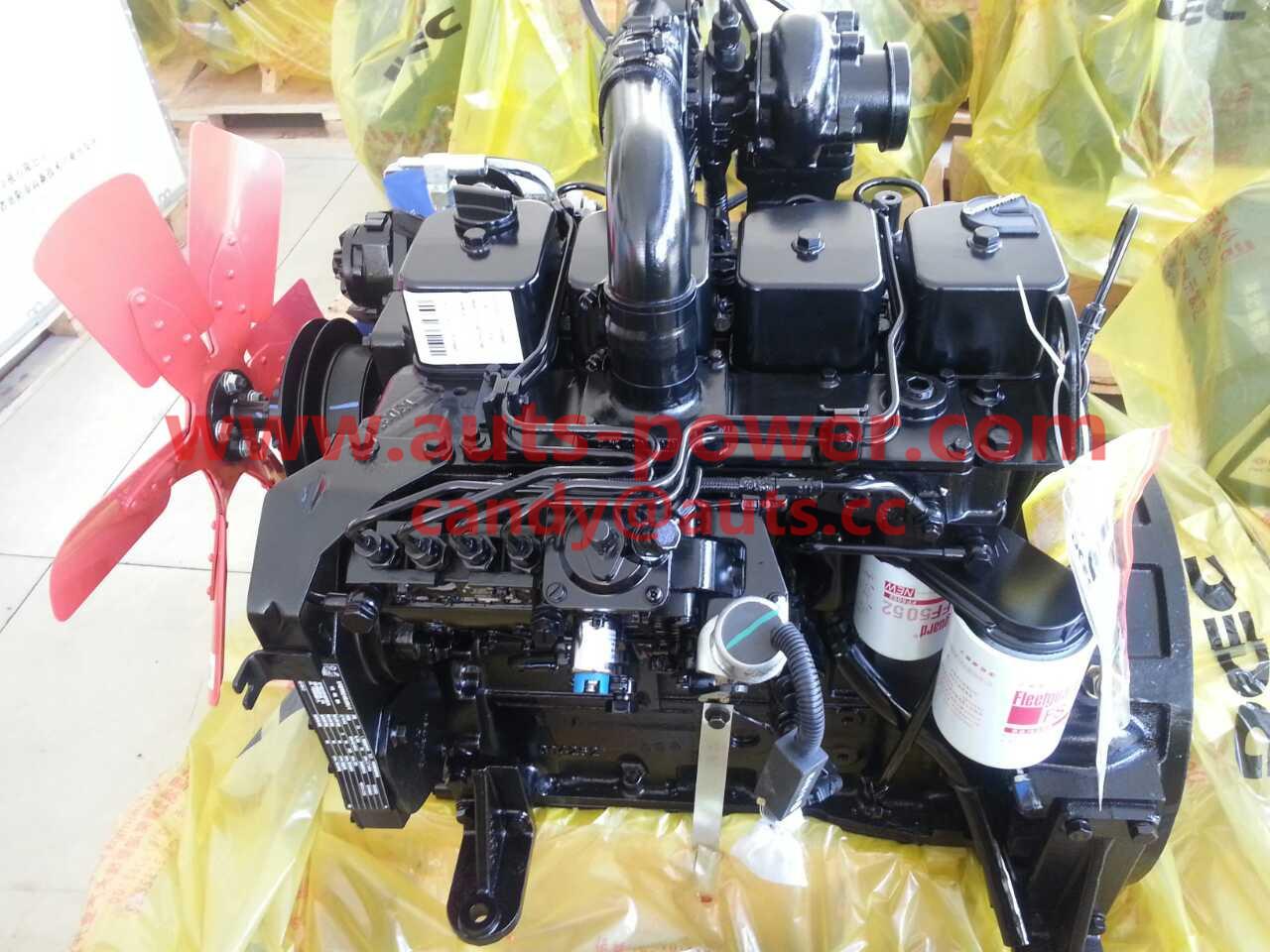 Cummins 4B Series Diesel Engine 4BT3.9-C100 for Construction