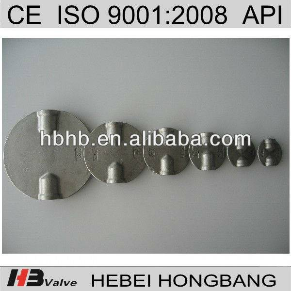 Stainless steel Dual Alxe butterfly valve disc