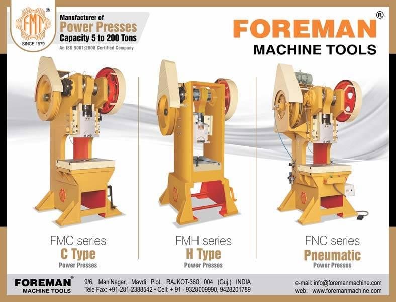 Power Press Manufacturer